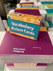 Continental Press Teacher Vocabulary Picture Cards and Boxes